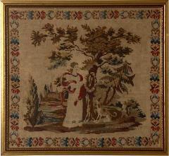 Framed Needlepoint England Circa 1830 - 1573804