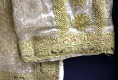 Framed Ottoman Coat with Metallic Thread Embroidery - 1410989
