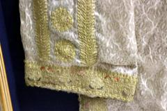 Framed Ottoman Coat with Metallic Thread Embroidery - 1410990