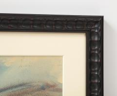 Framed watercolor by Norton Foster - 2101616