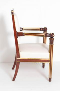 Fran ois Honor Georges Jacob Desmalter French Empire Fauteuil by b niste Jacob Desmalter circa 1820 stamped - 1983757
