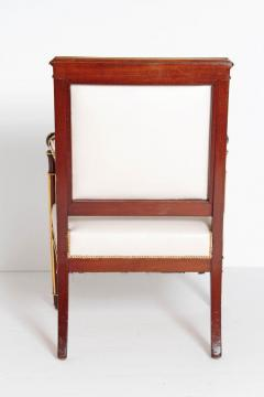 Fran ois Honor Georges Jacob Desmalter French Empire Fauteuil by b niste Jacob Desmalter circa 1820 stamped - 1983758