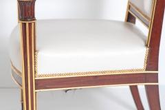Fran ois Honor Georges Jacob Desmalter French Empire Fauteuil by b niste Jacob Desmalter circa 1820 stamped - 1983760