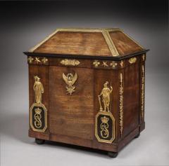 Fran ois Honor Georges Jacob Desmalter National Treasure Pauline Bonaparts Empire Period Mahogany Personal Letterbox - 1311270