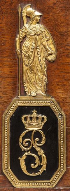 Fran ois Honor Georges Jacob Desmalter National Treasure Pauline Bonaparts Empire Period Mahogany Personal Letterbox - 1311274