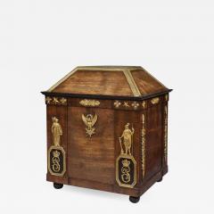Fran ois Honor Georges Jacob Desmalter National Treasure Pauline Bonaparts Empire Period Mahogany Personal Letterbox - 1312910