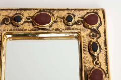 Fran ois Lembo Jeweled Fran ois Lembo Mirror - 1906246