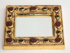 Fran ois Lembo Jeweled Fran ois Lembo Mirror - 1906249