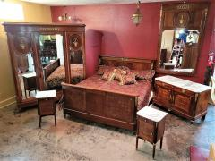 Fran ois Linke 19C French Empire Style Complete Bedroom Set Outstanding - 2121156