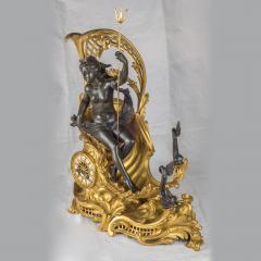 Fran ois Linke A Fine Quality Gilt Bronze Mantel Clock Depicting Amphitrites Chariot Drawn - 1435164