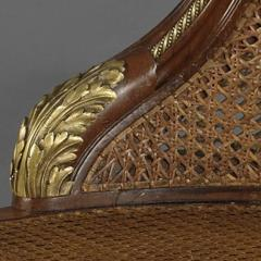Fran ois Linke A Gilt Bronze Mounted Mahogany Desk Chair - 772594