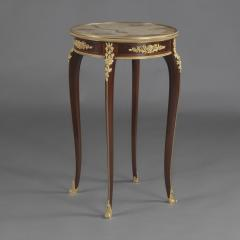 Fran ois Linke A Louis XV Style Parquetry Gueridon - 1084383