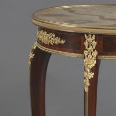 Fran ois Linke A Louis XV Style Parquetry Gueridon - 1084384