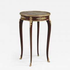 Fran ois Linke A Louis XV Style Parquetry Gueridon - 1085009