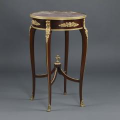 Fran ois Linke A Louis XV Style Table Ambulante - 1084077