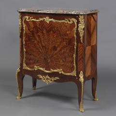 Fran ois Linke A Louis XVI Style Marquetry Side Cabinet - 1043703