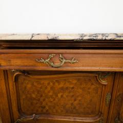 Fran ois Linke A pair of French Louis XV style signed F Linke marble top commodes - 2033609
