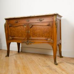 Fran ois Linke A pair of French Louis XV style signed F Linke marble top commodes - 2033618