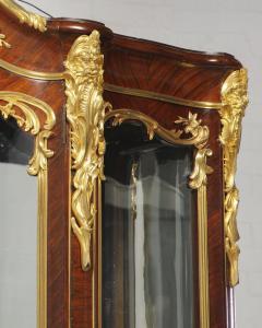 Fran ois Linke Francois Linke a Large and Fine Gilt Bronze Mounted Kingwood Grand Vitrine - 1161414