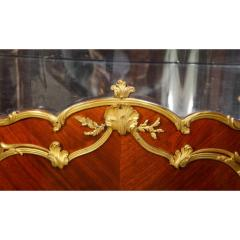 Fran ois Linke Francois Linke an Exceptional French Ormolu Mounted Kingwood Vitrine Cabinet - 1217801