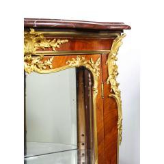 Fran ois Linke Francois Linke an Exceptional French Ormolu Mounted Kingwood Vitrine Cabinet - 1217810