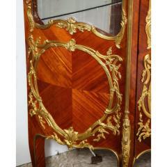 Fran ois Linke Francois Linke an Exceptional French Ormolu Mounted Kingwood Vitrine Cabinet - 1217811