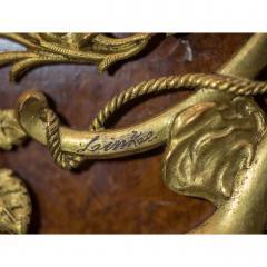 Fran ois Linke Ormolu Mounted Mahogany Tulipwood and Ambonya Commode by Fran ois Linke - 1990644