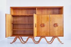 Francesco Bisacco Francesco Bisacco Cabinet in Cherrywood Turin Italy 1940s - 954935