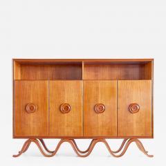 Francesco Bisacco Francesco Bisacco Cabinet in Cherrywood Turin Italy 1940s - 956434