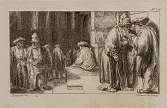Francesco Novelli Rembrandt Etching 18 by Francesco Novelli - 1629348