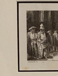 Francesco Novelli Rembrandt Etching 18 by Francesco Novelli - 1629349