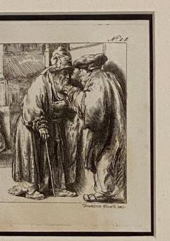 Francesco Novelli Rembrandt Etching 18 by Francesco Novelli - 1629350
