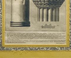Francesco Piranesi Piranesi Column Etching - 1505330
