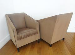 Francis Jourdain Exceptional Pair of Armchairs by Francis Jourdain France 1920s - 345567