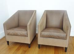 Francis Jourdain Exceptional Pair of Armchairs by Francis Jourdain France 1920s - 345568