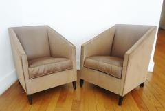 Francis Jourdain Exceptional Pair of Armchairs by Francis Jourdain France 1920s - 345572