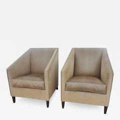 Francis Jourdain Exceptional Pair of Armchairs by Francis Jourdain France 1920s - 346006
