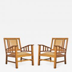Francis Jourdain Francis Jourdain French Art Deco Modernist Pair of Armchairs circa 1920 - 295250