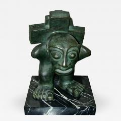 Francisco Arturo Marin El Slavo Bronze Sculpture by Francisco Arturo Marin - 226009