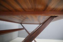 Franco Albini Franco Albini MidCentury Walnut trestle table Foldable from 1950s - 1116241