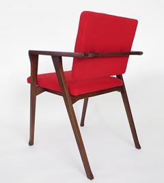 Franco Albini Franco Albini Set Of Six Luisa Italian Dining Chairs For  Poggi   465608