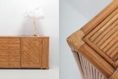 Franco Albini Franco Albini Style Bamboo Credenza 1970s - 1051976