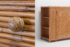 Franco Albini Franco Albini Style Bamboo Credenza 1970s - 1051978