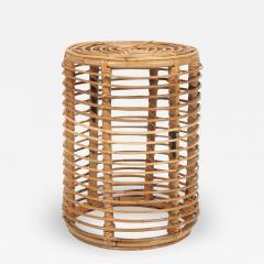 Franco Albini Franco Albini bamboo side table for Bonacina - 1577067