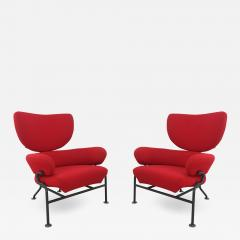 Franco Albini Pair of armchairs by Franco Albini Mod Tre pezzi PL19 for Poggi - 946216
