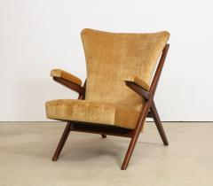 Franco Albini Rare 832 Lounge Chair by Franco Albini - 1008004