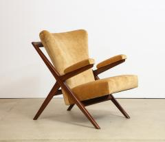 Franco Albini Rare 832 Lounge Chair by Franco Albini - 1008005