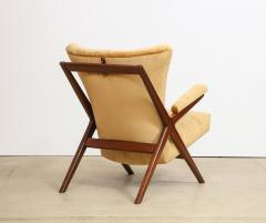 Franco Albini Rare 832 Lounge Chair by Franco Albini - 1008009
