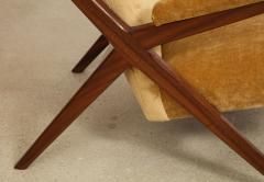 Franco Albini Rare 832 Lounge Chair by Franco Albini - 1008010