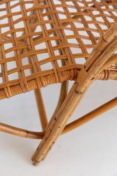 Franco Albini Rare Pair of Wicker Chaise Longues - 1573009